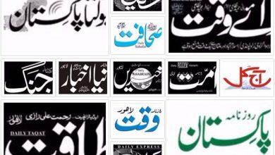 Pakistan News Papers