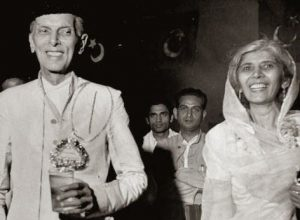 Jinnah in happy mode with sister.